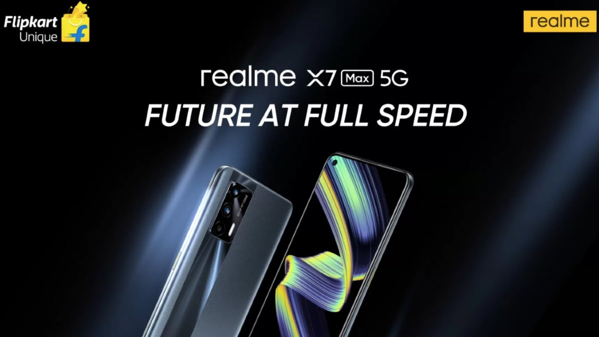 Availability of Realme X7 Max 5G via Flipkart Confirmed May 31 before release
