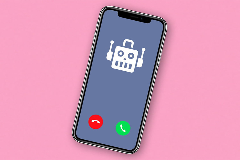 Robot-puhelujen ohittaminen iPhonessa
