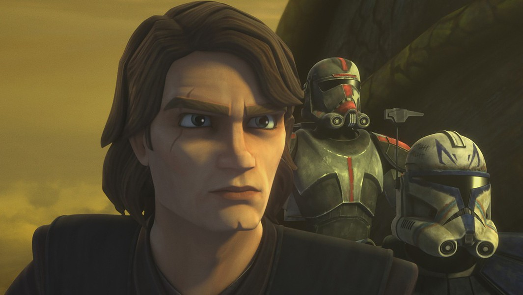 Matt Lanter of the Clone Wars repeats the role of Anakin Skywalker