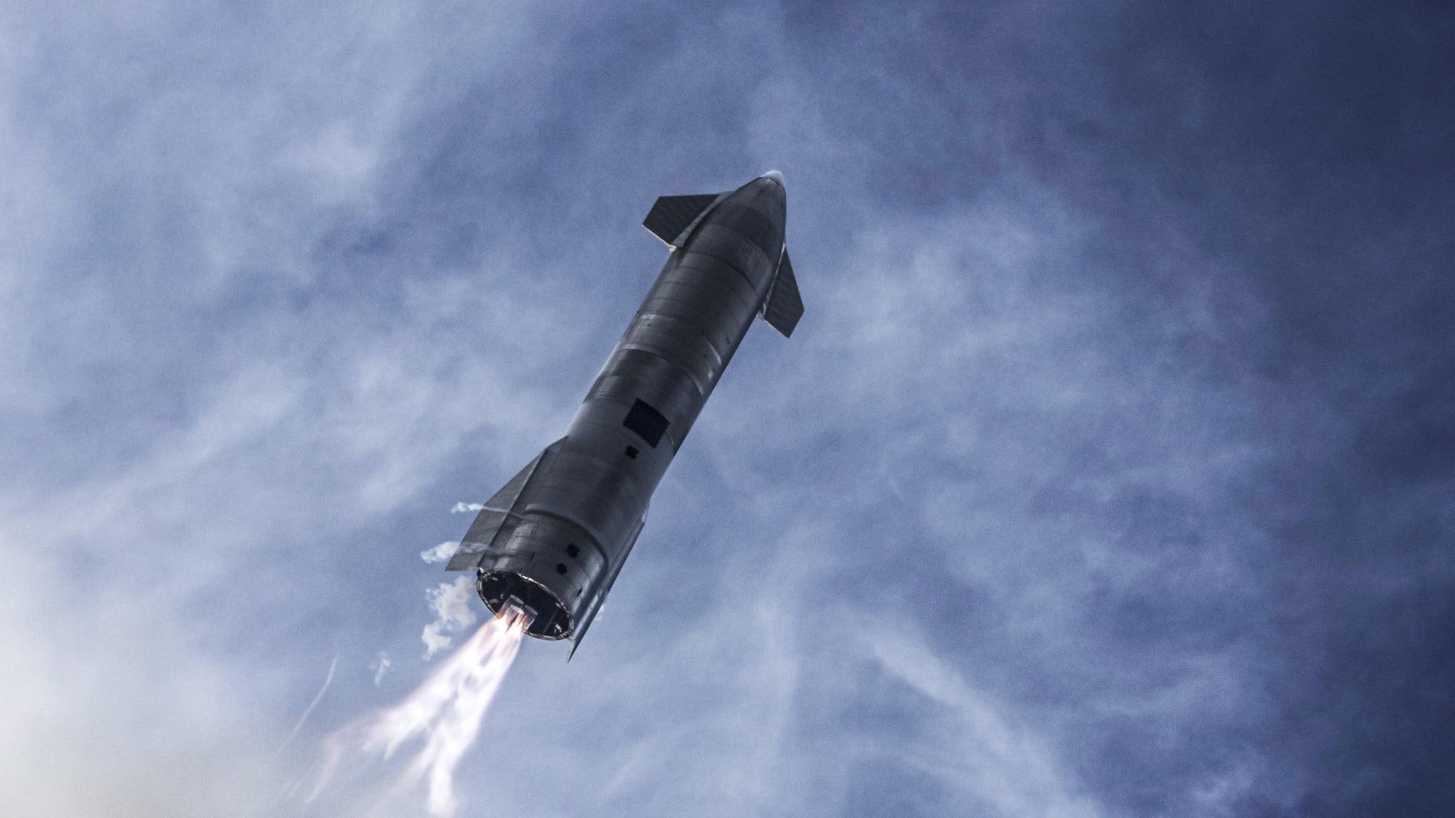SpaceX reveals Starship's first orbit plan