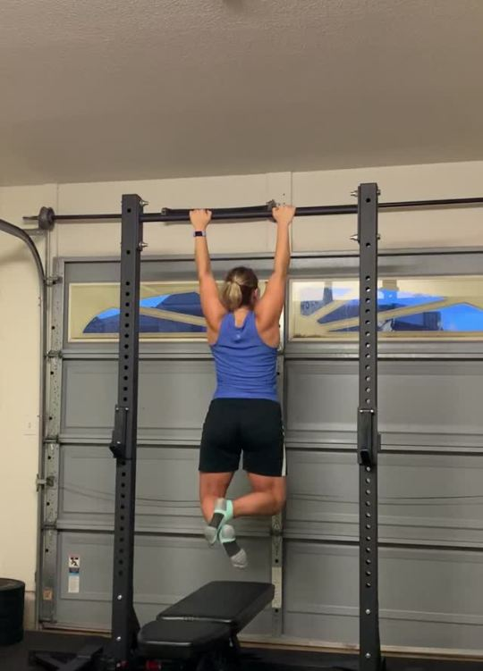 Heart Day and some pull ups7 straights were rough, but we got it!