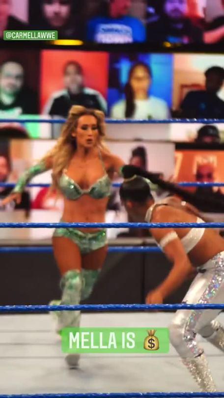 WWE Women 🌸, � Bianca Belair vs Carmella �