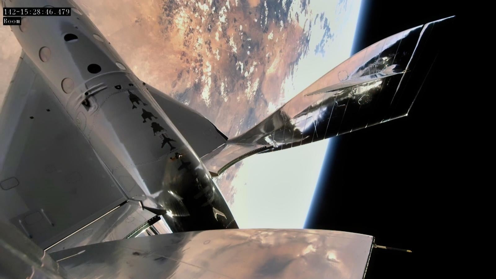 The Virgin Galactic Spaceplane makes it the frontier of space