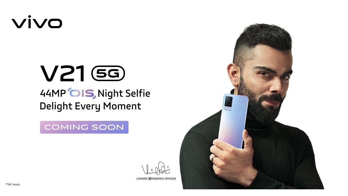 Vivo V21 5G India release confirmed, Will Sport 44-megapixel selfie camera