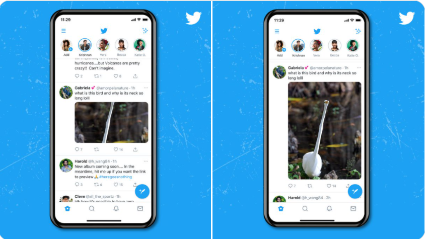 Twitter publishes a full-size image preview - is it good or bad?