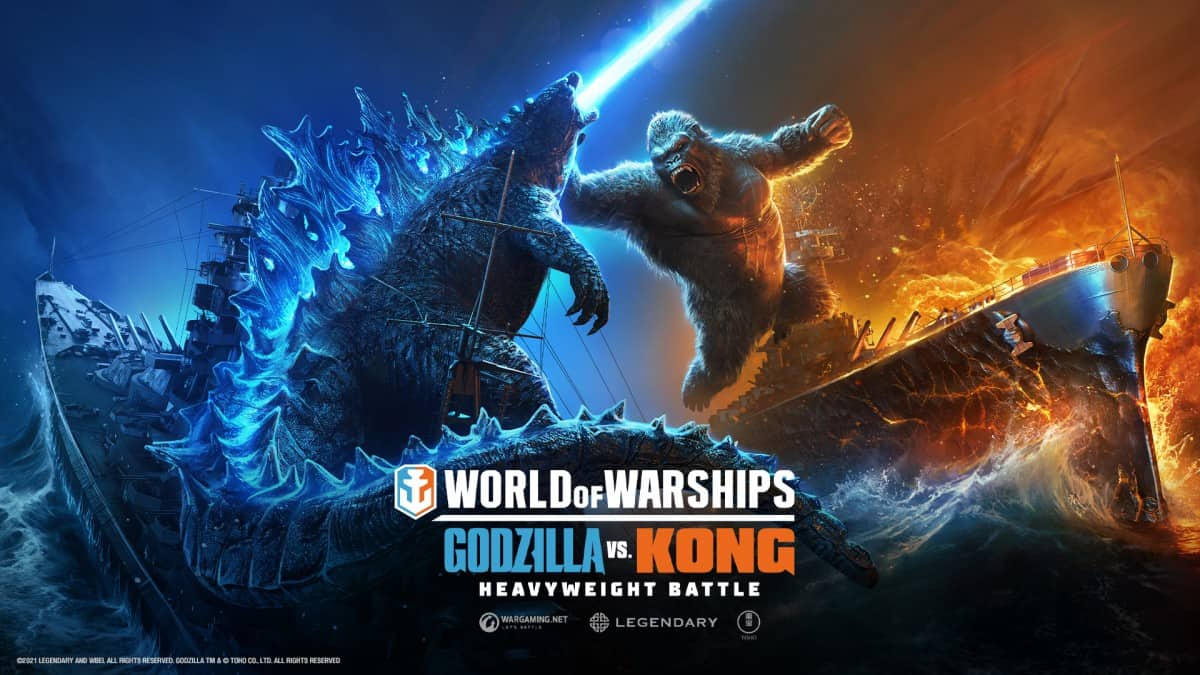 Godzilla vs. Kong is now running in the World of Warships