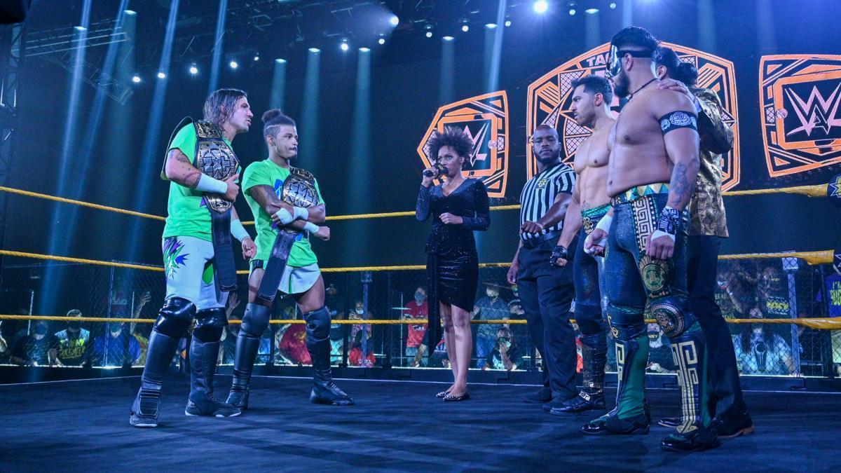 WWE Women Team, MSK (c) - Legado Del Fantasma for NXT Tag Team ...