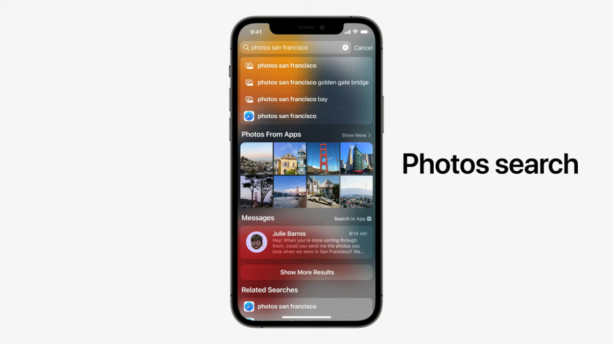 Apple adds Image Search to Spotlight on iOS 15