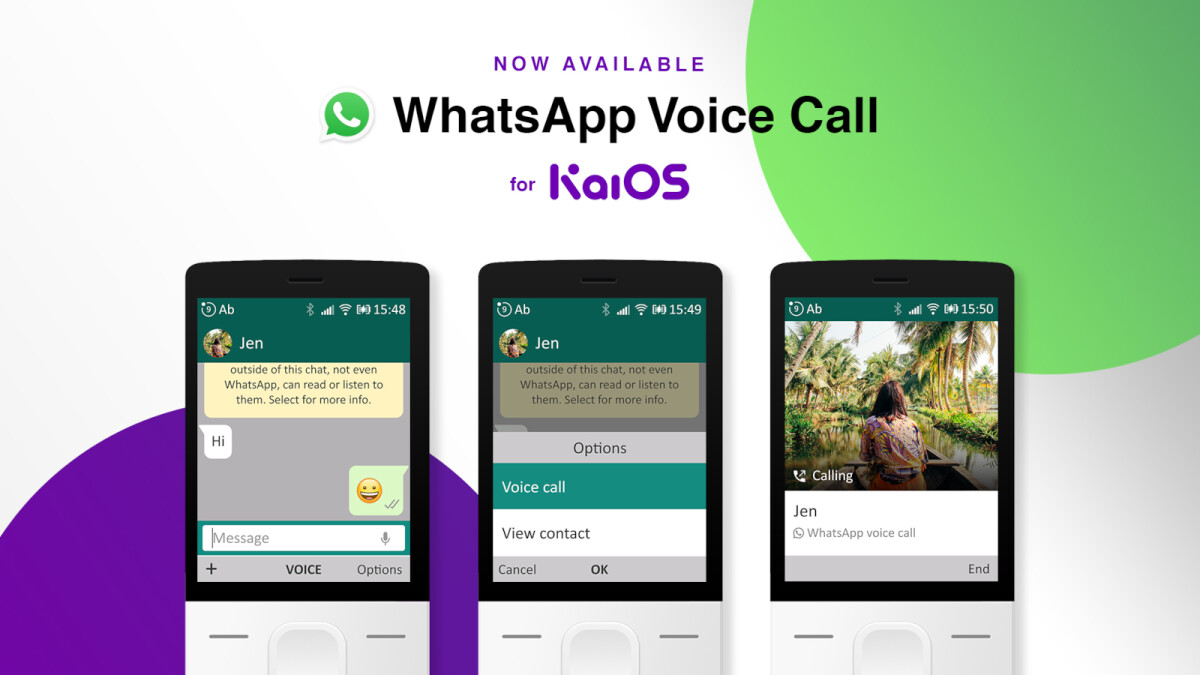 WhatsApp voice calls come with many Nokia feature phones
