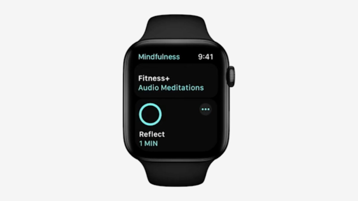 Apple is leaking the upcoming Fitness + Audio Meditations feature to Apple Watch