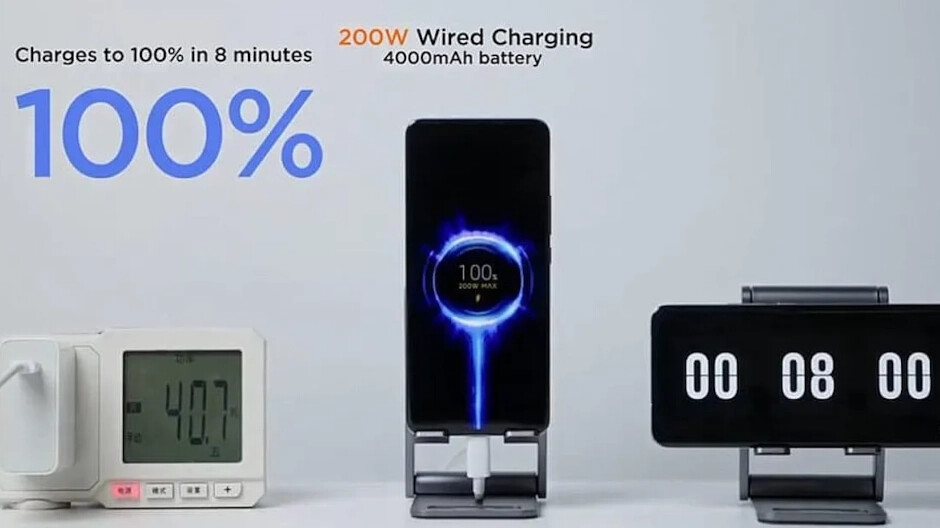This is the biggest drawback of Xiaom's 200 W quick charge system