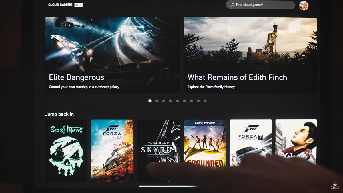 Microsoft launches Xbox Cloud Gaming on iOS devices