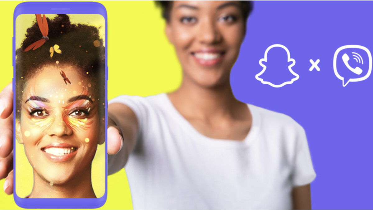 Snapchat brings AR lenses to Viber on Android and iOS