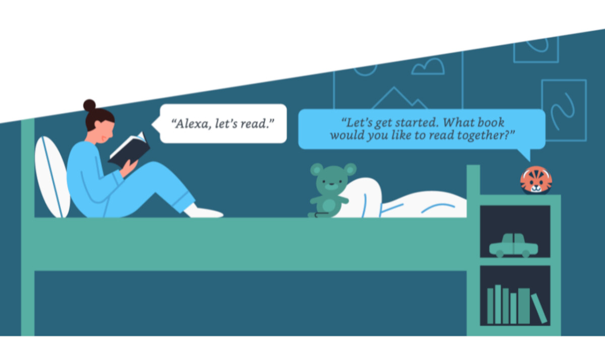 Amazon launches new reading know-how for Alexa