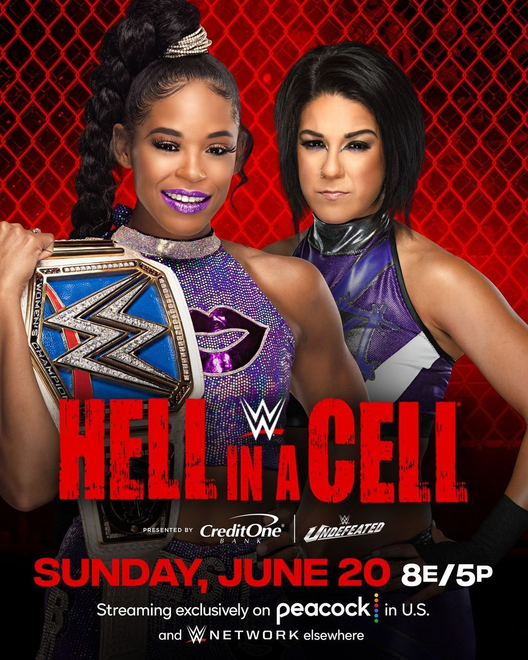 WWE Women 🌈, Bianca Belair defends Smackdown women ...