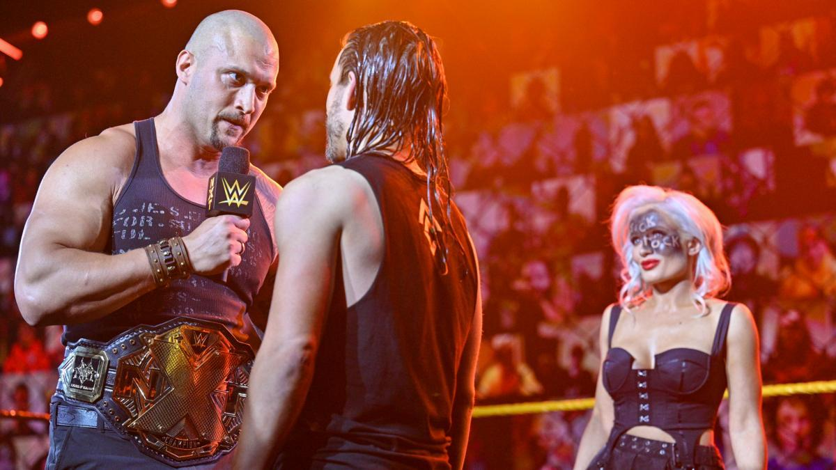 Adam Cole meets face-to-face with Karrio KrossWWE NXT: June 1, 2021 - Digital
