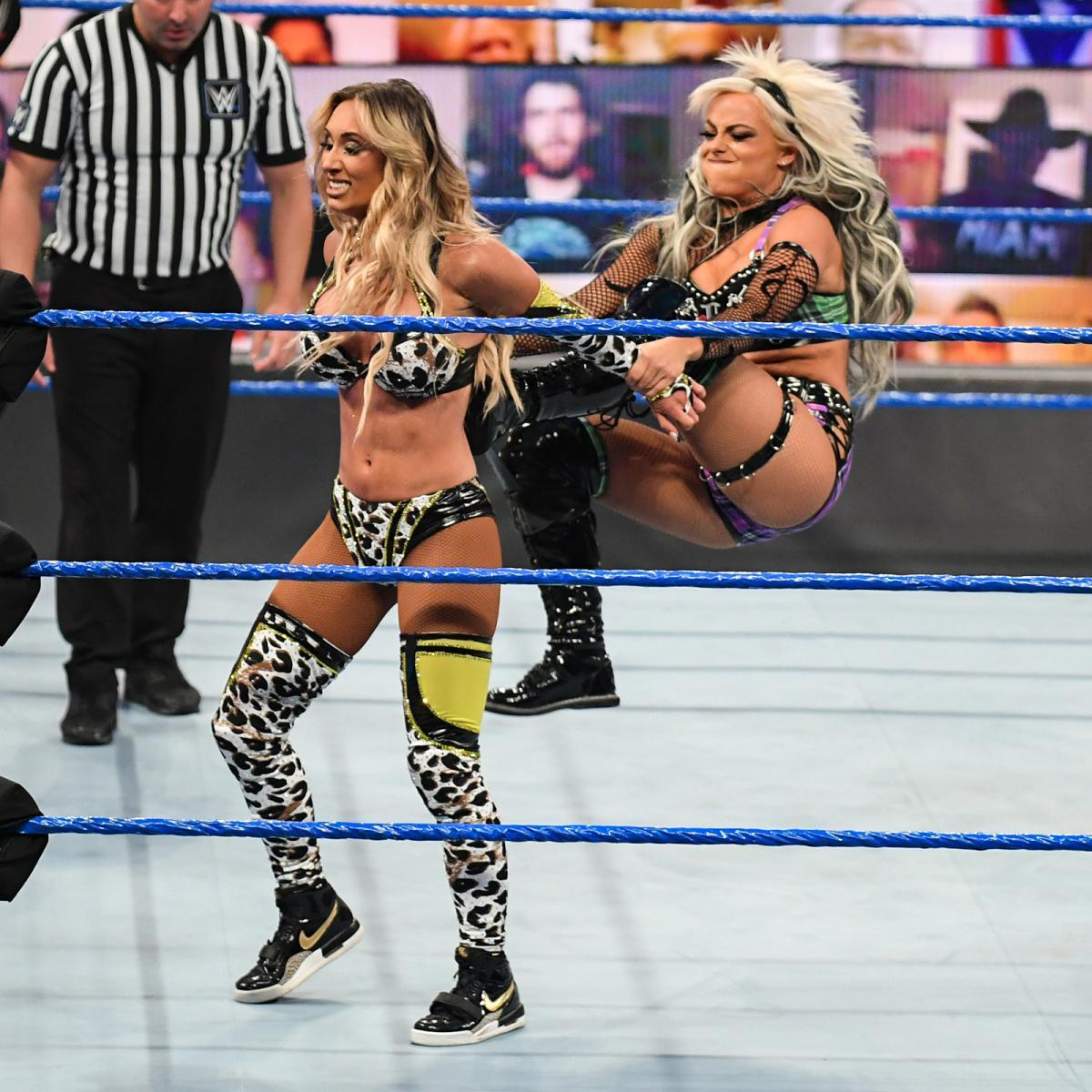 WWE Women, Liv Morgan vs. Carmella: Friday Night Smackdown ...