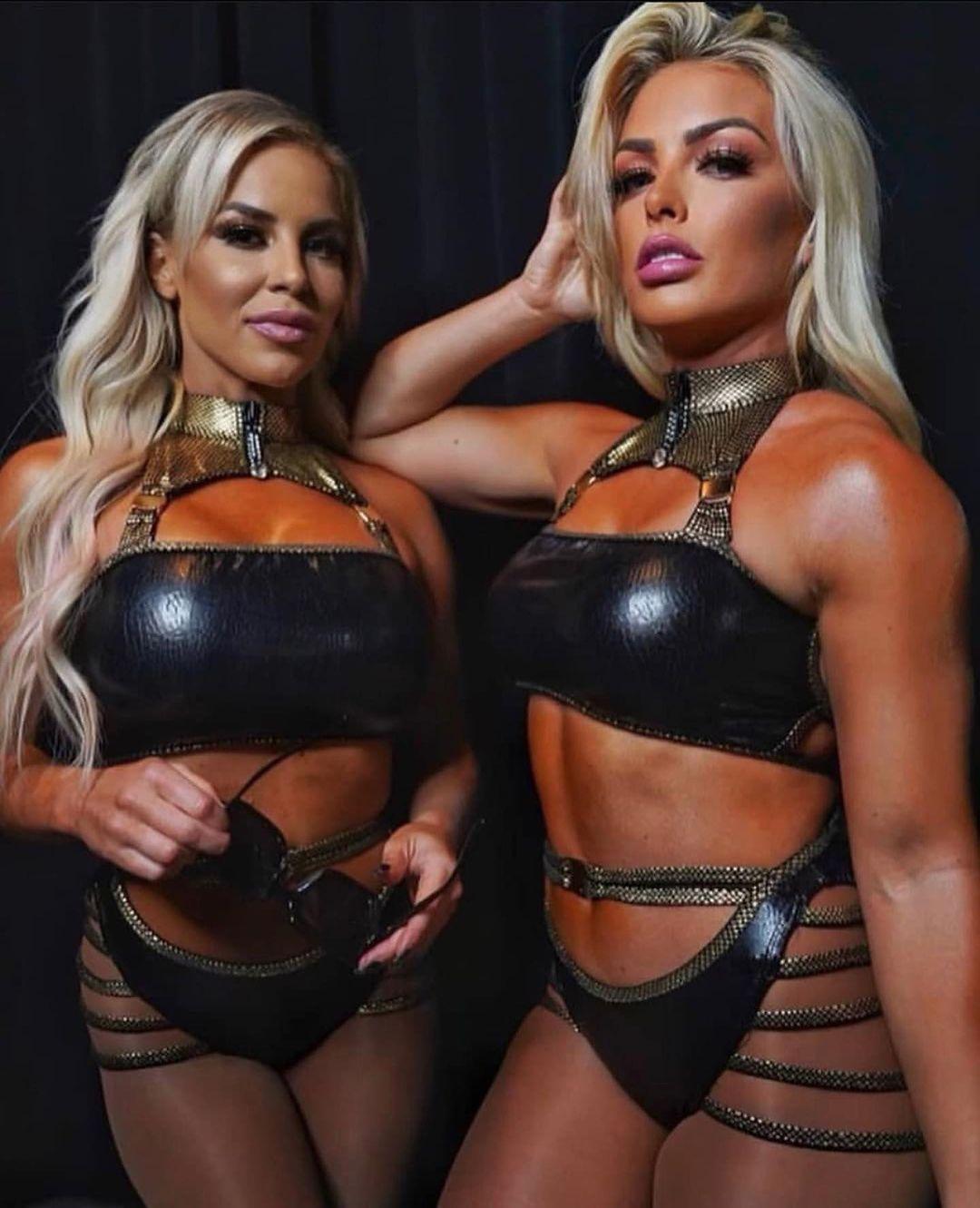 WWE Women D, Dana Brooke & Mandy Rose 💋