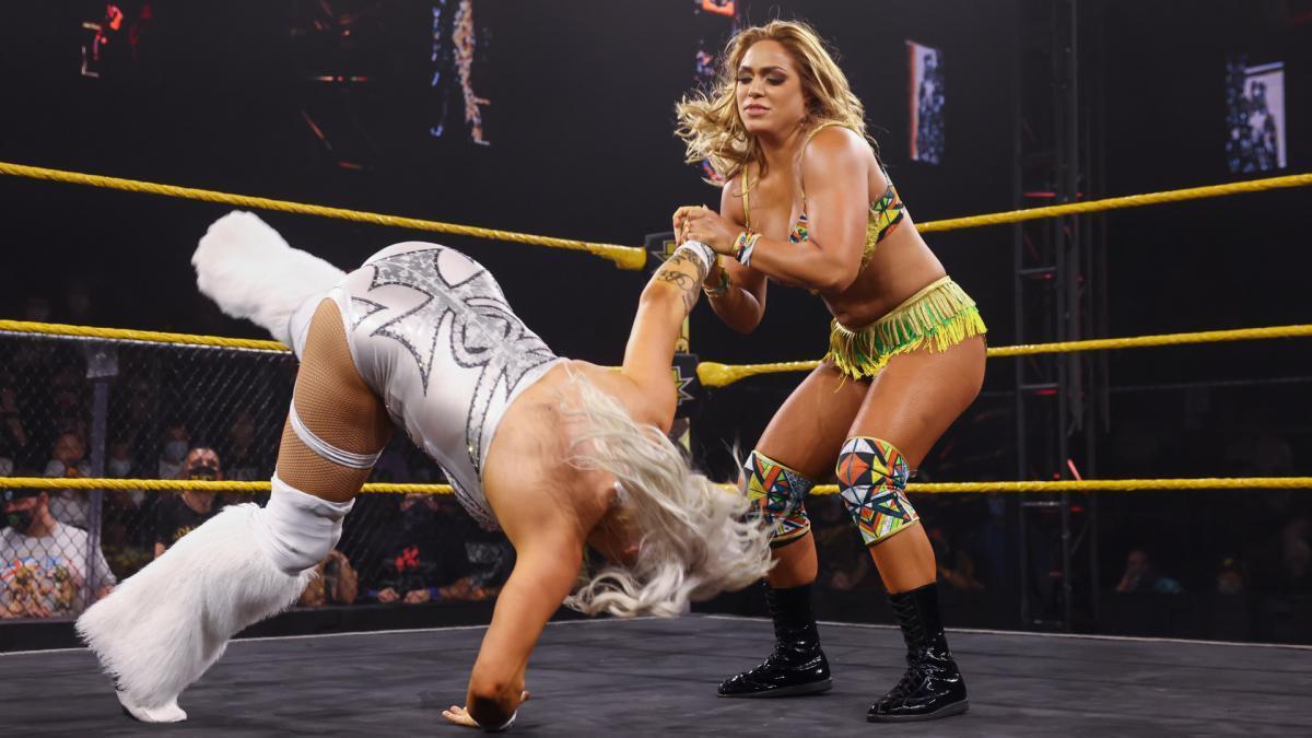 Franky Monet vs. Elektra LopezWWE NXT: June 22, 2021 - Digital