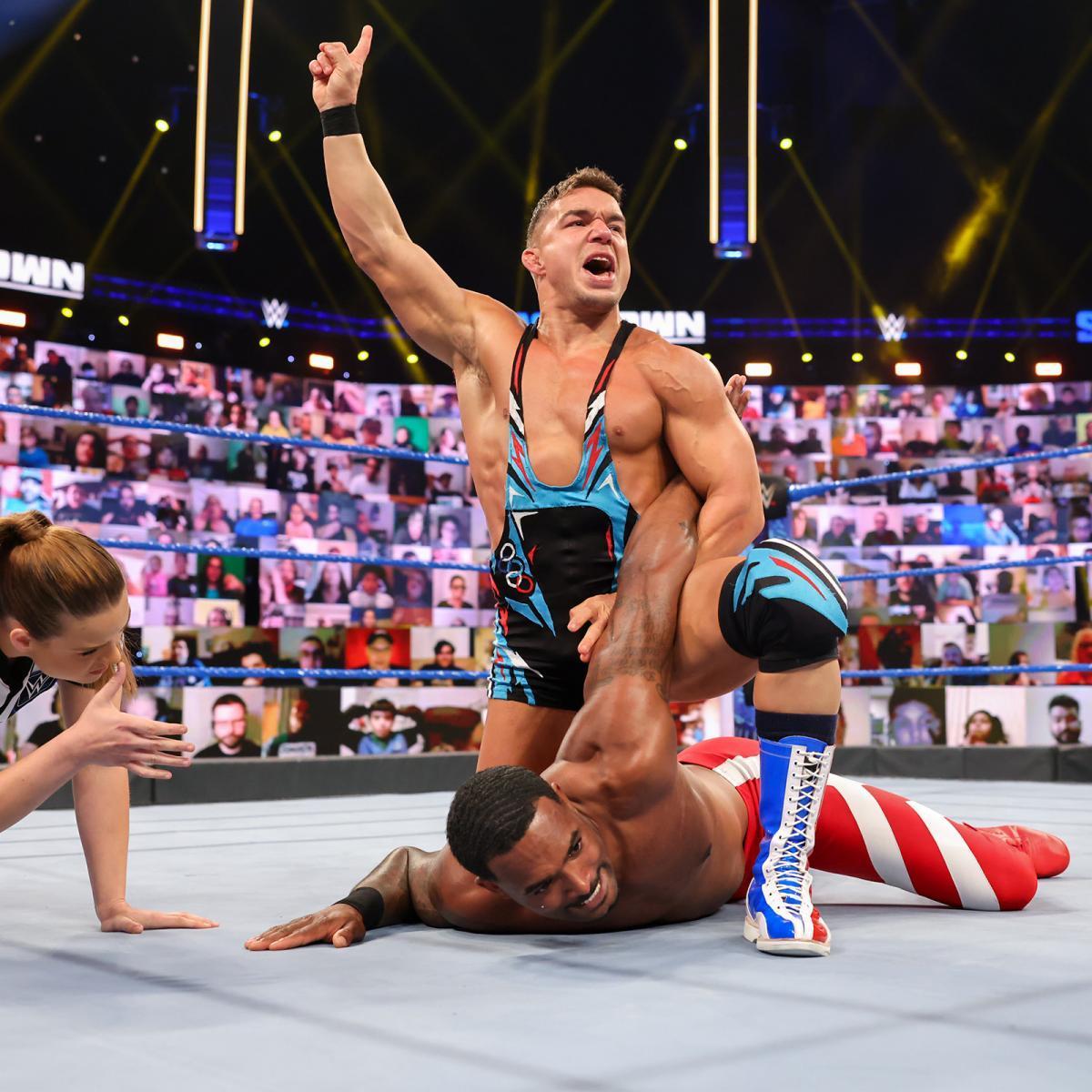 WWE Women, Montez Ford vs. Chad Gable: Friday Night Smackdown ...