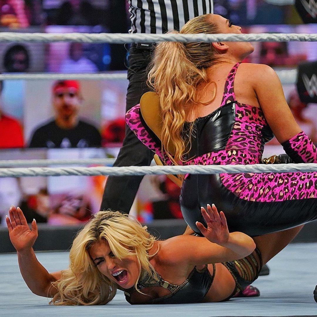WWE women ⭐, ⭐ Natalya and Mandy Rose ⭐