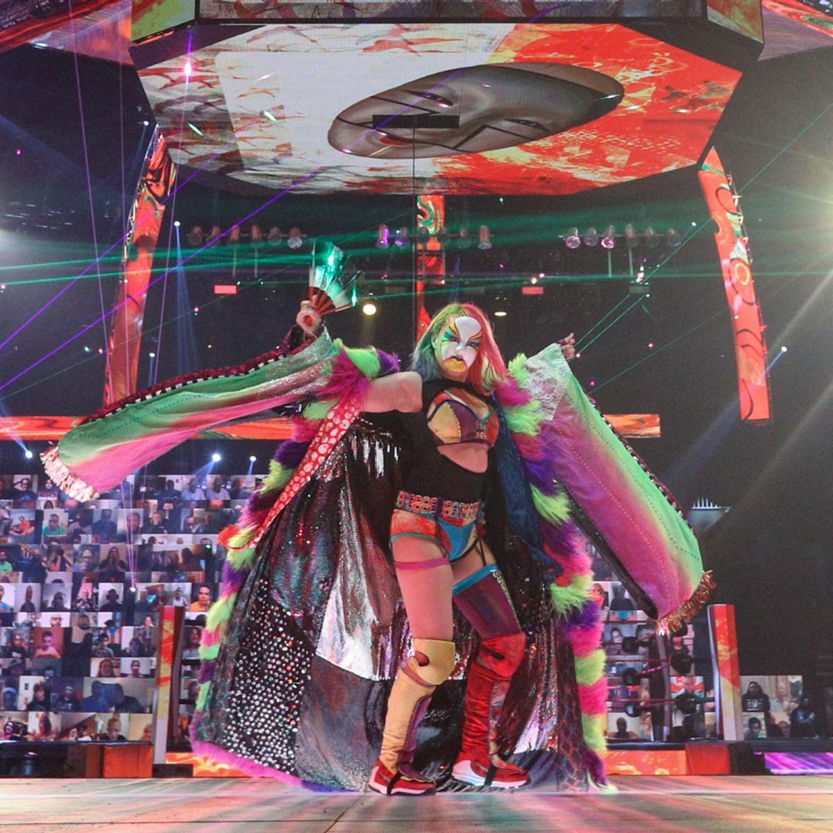 WWE Women As, Asuka: Raw 28.6.21