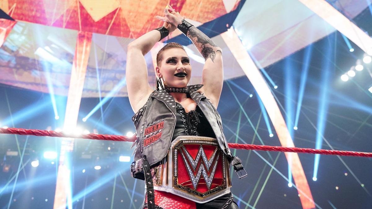 WWE Women, Rhea Ripley: Raw 14.6.21