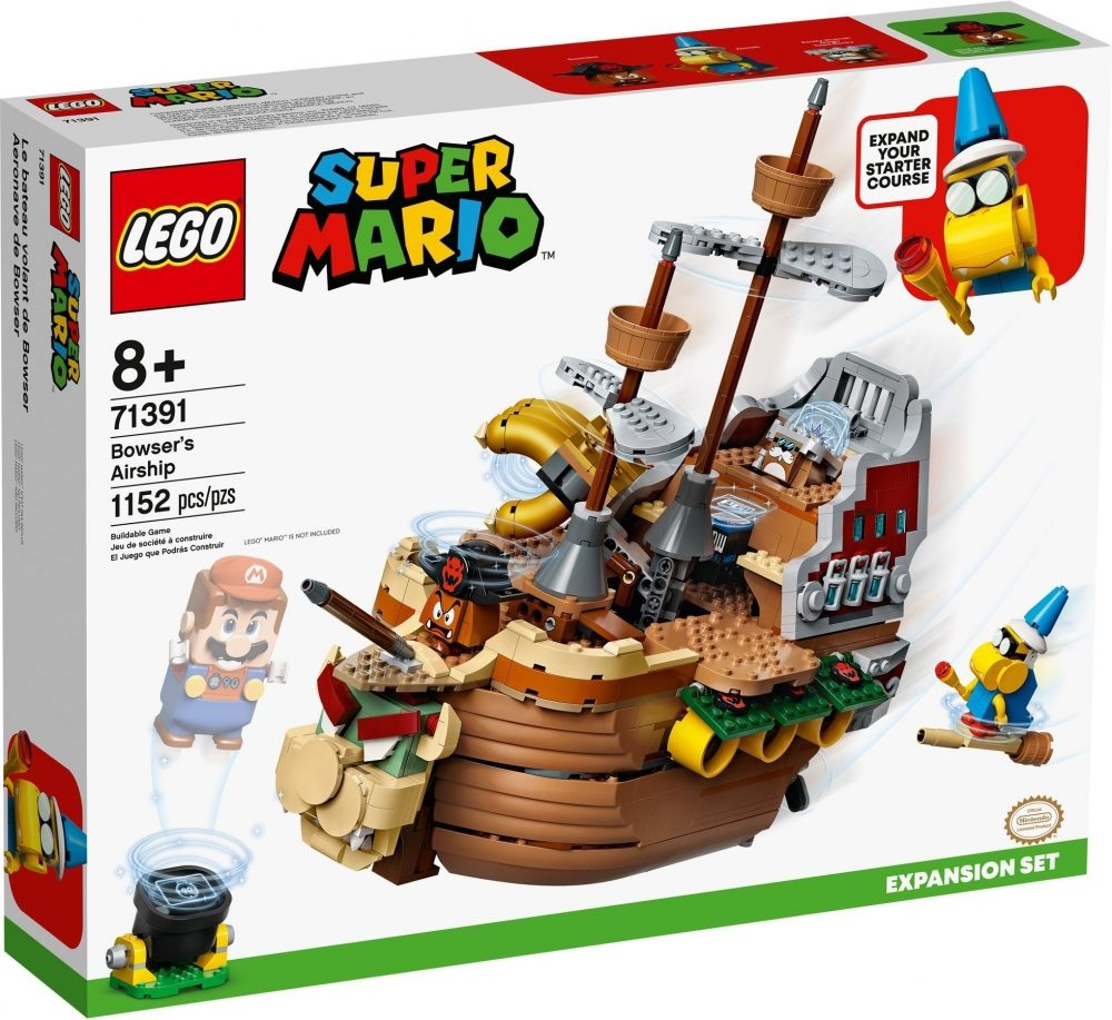 New LEGO Super Mario Expansion Kits, Starter Packs, and Character Packs Released in August