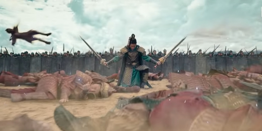 Dynasty Warriors video game comes to life with a trailer for adapting a Netflix movie