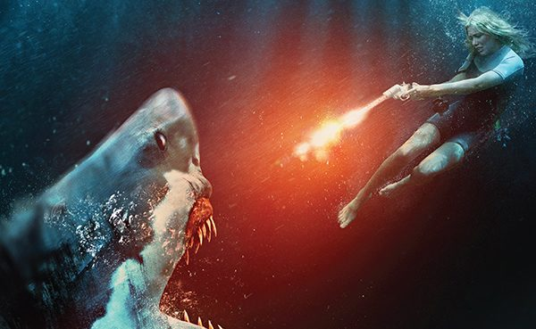 Shark thriller The big white gets a poster, trailer and pictures