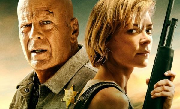 Trailer for action thrillers Out of Death, starring Bruce Willis and Jaime King