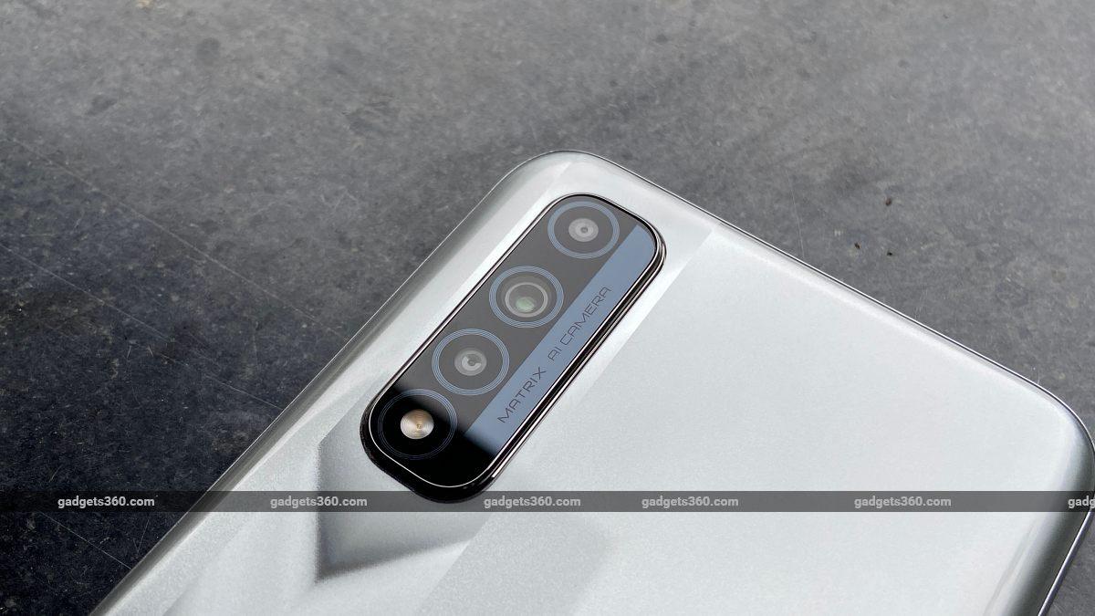 Realme Narzo 30 rear camera ndtv RealmeNarzo30 Realme