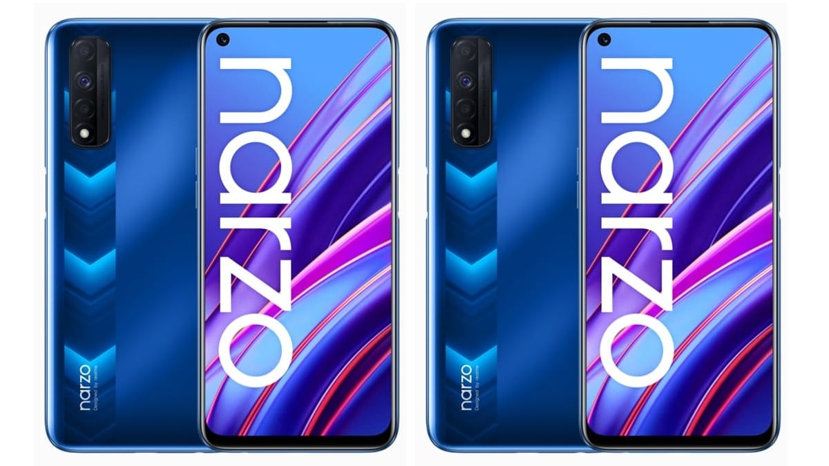 Realme Narzo 30, Narzo 30 5G Flipmap availability confirmed on June 24th before the launch of India