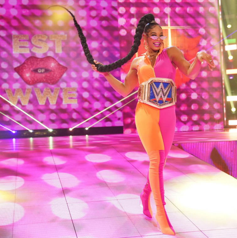 Bianca Belair challenges Bayley to a match at WWE Hell at CellSmackDown: June 4, 2021 - Digitals