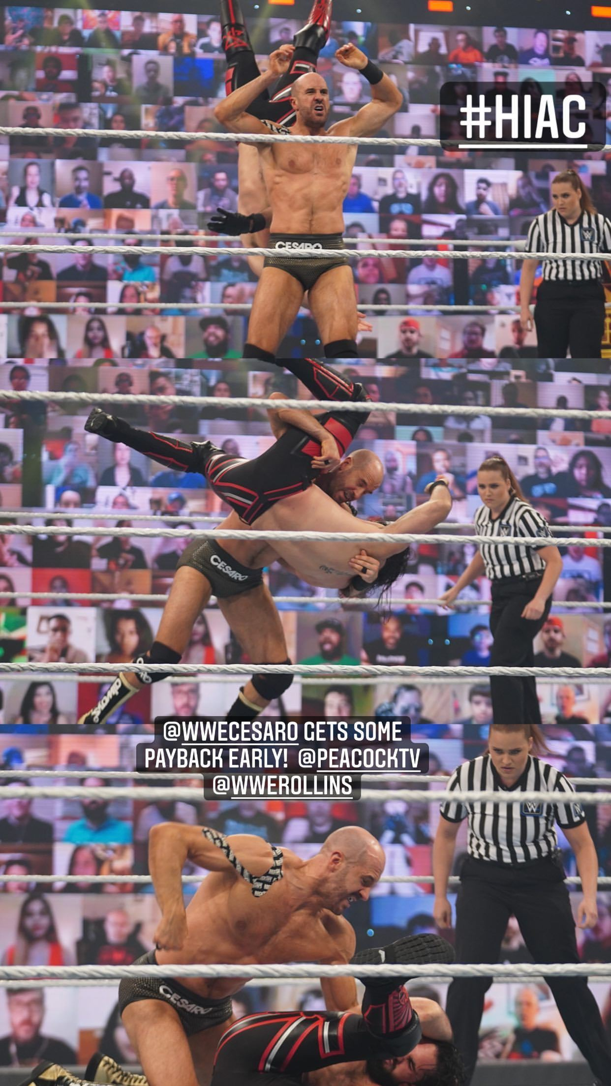 WWE Women 🌈, ⭐ Cesaro vs Seth Rollins ⭐