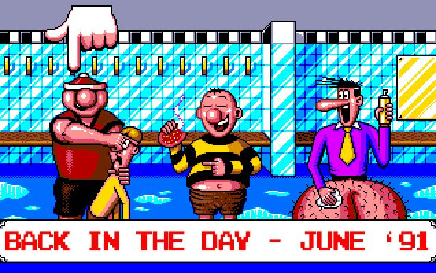 The video games we played in June 1991