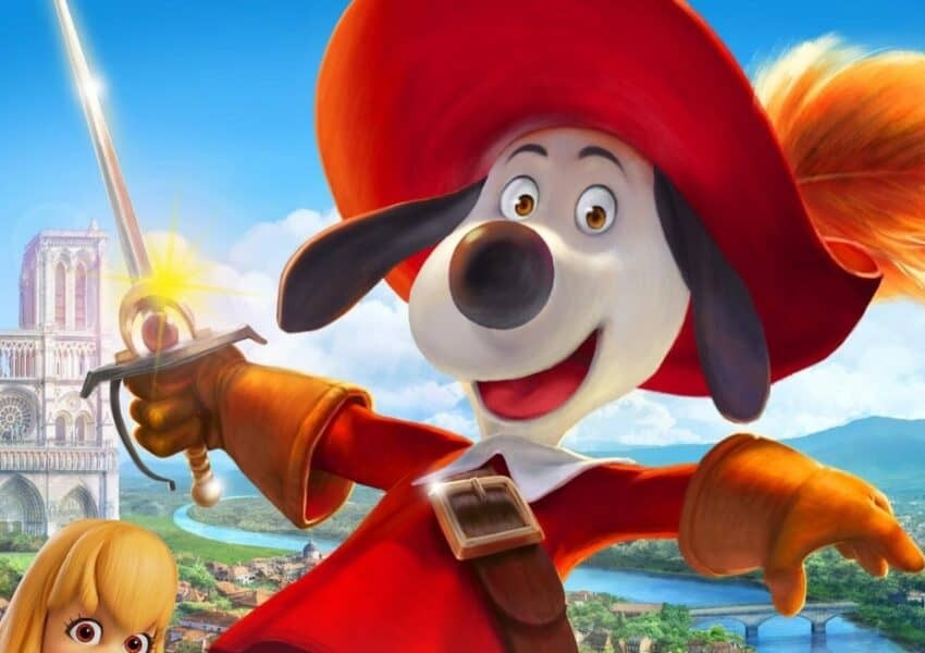 The animated film Dogtanian and the Three Muskehounds gets a trailer and a poster