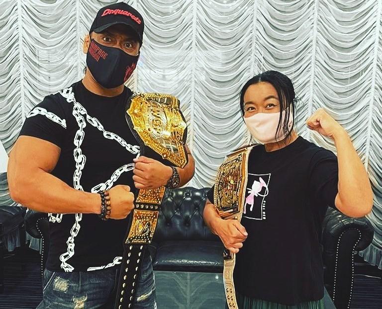 WWE Women 🌈, Meiko Satomura 💋