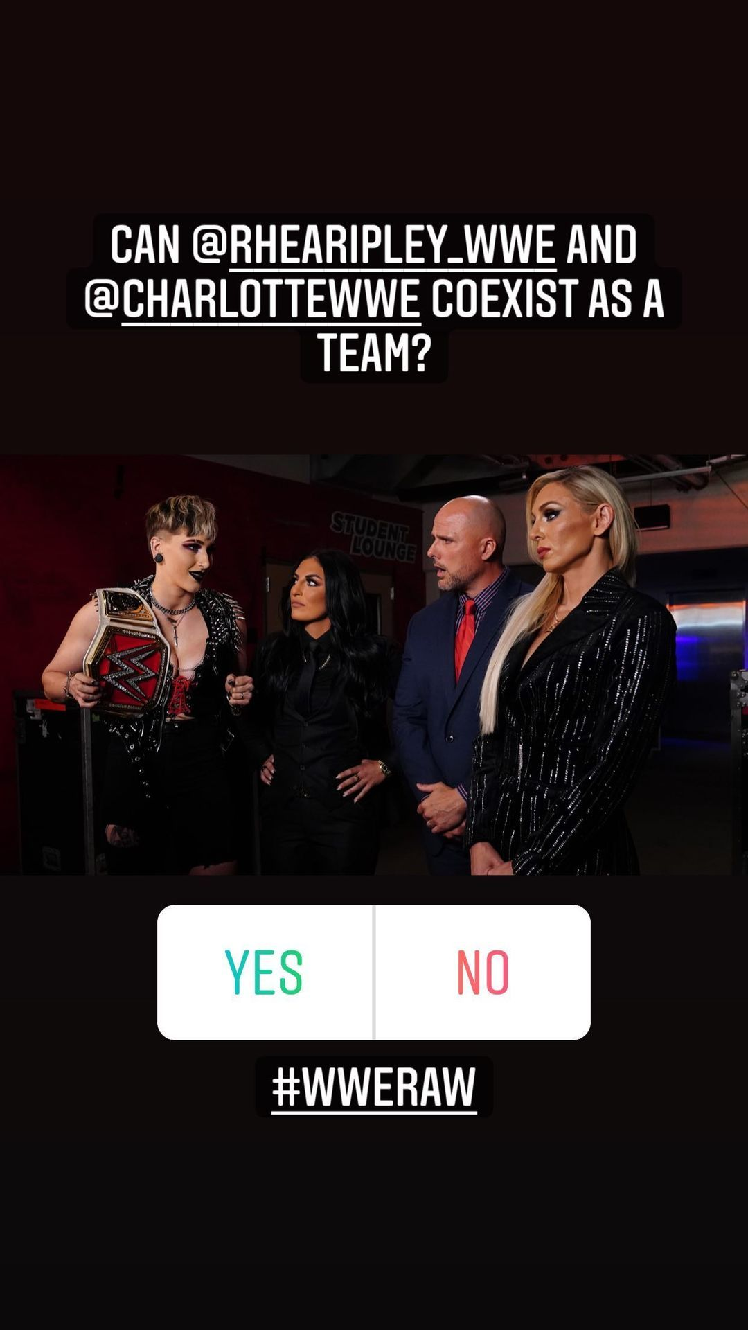 WWE Women, Rhea Ripley, Sonya Deville, Adam Pearce, ...