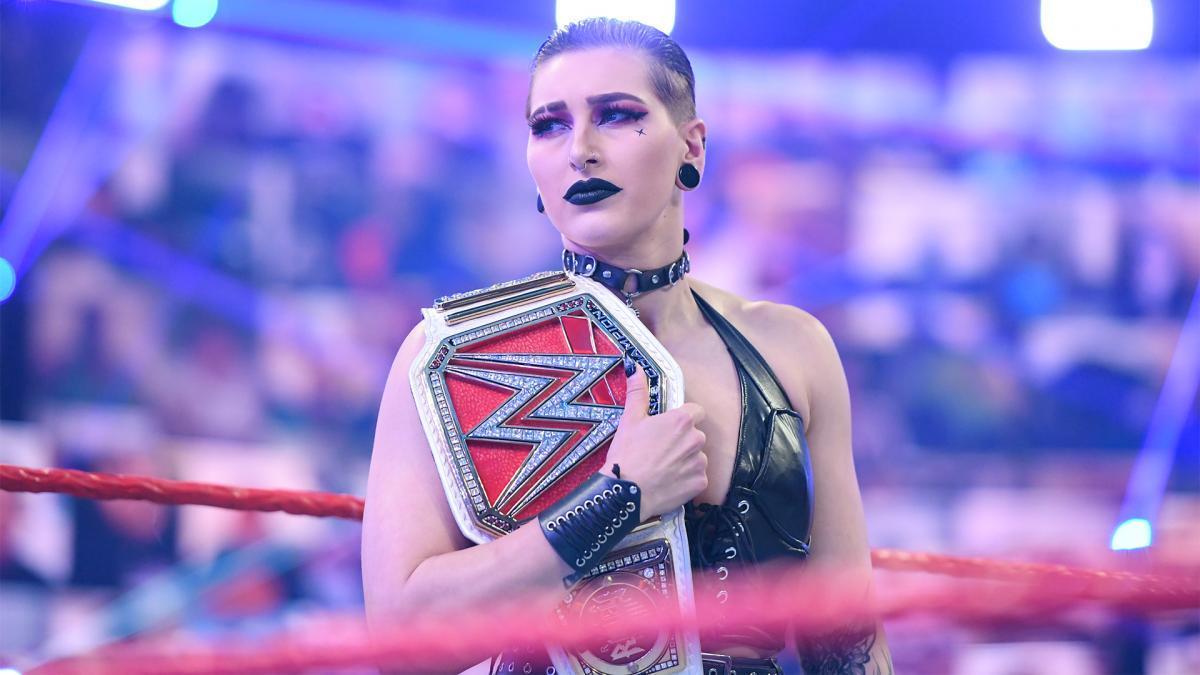WWE Women, Rhea Ripley: Raw 7.6.21