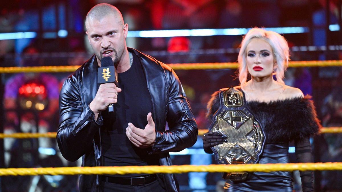 Karrion Kross tries to drive Johnny Gargano over WWW NXT: June 29, 2021 - Digital Data