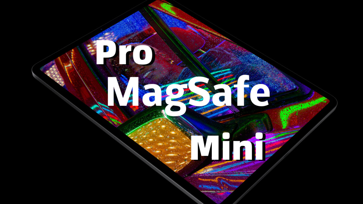 iPad Pro MagSafe and glass back next year;  revamped the iPad Mini in 2021