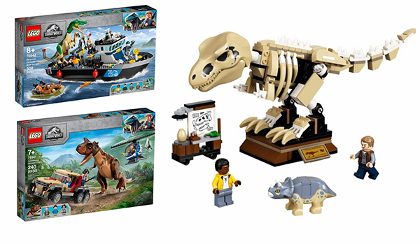 The new LEGO Jurassic World arrives in August and September