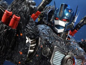 The rise of animals in the form of Optimus Primal