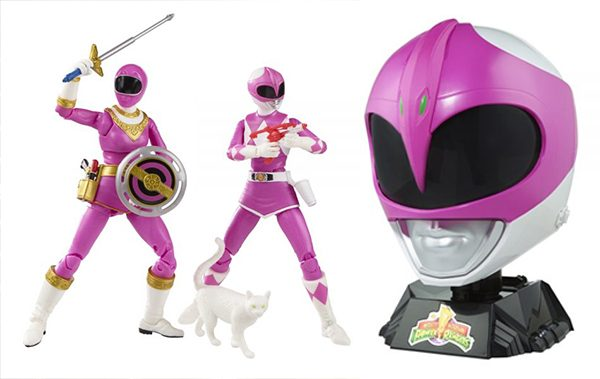 Hasbro unveils new Power Rangers Pink Ranger role-playing games and Action Characters