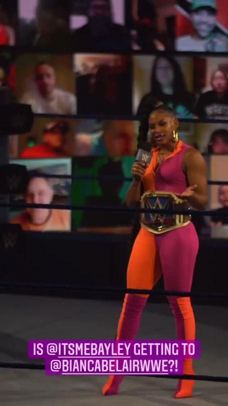 WWE Women 🌈, � Bianca Belair �