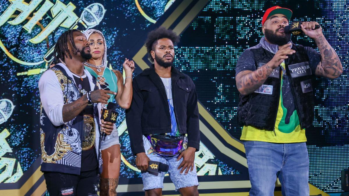 "Hit Row Crashes Legado del Fantasman's ""Mariachi Madness Musical"" WWE NXT: July 20, 2021 - Digital"