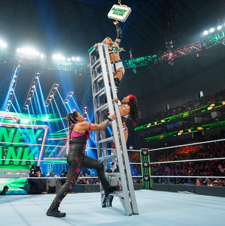 Women's money in the bank ladder matchWWE Money in Bank 2021Digital: part another