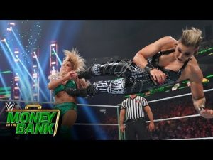 Ripley attacks FlairWWE Money against Bank 2021 (WWE Network Exclusive)