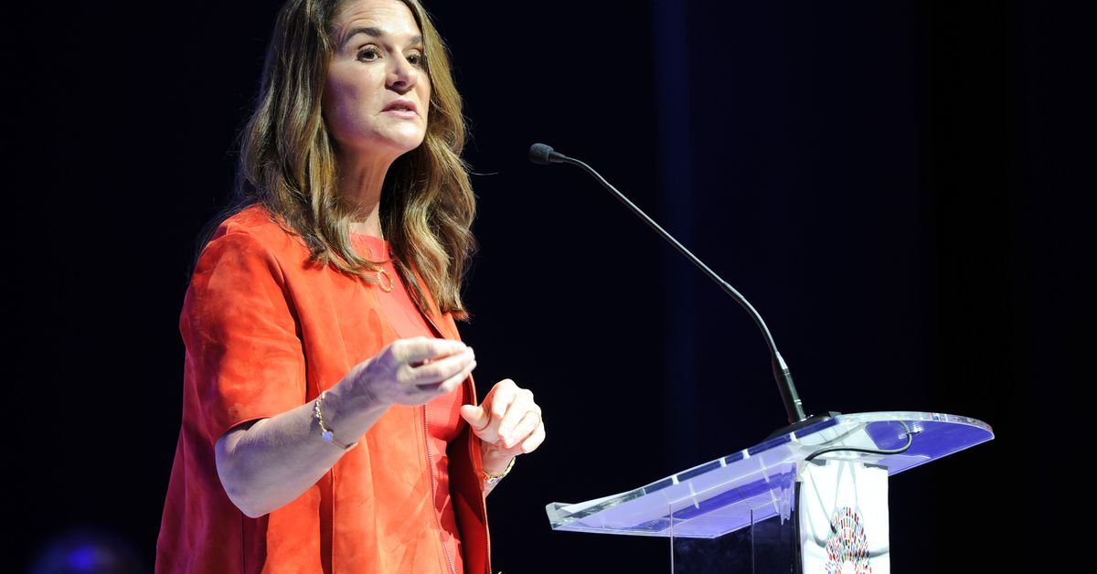 Melinda French Gates leaves the foundation if she and Bill Gates can't 'work constructively'